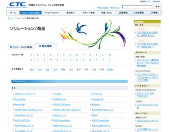 藤忠テクノソリューションズ(株)|ソリューション/商品
